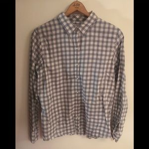 Checkered button up flannel